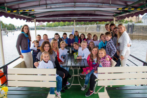 Reference z plaveb po Vltavě